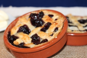 Gorgeous blueberry pies