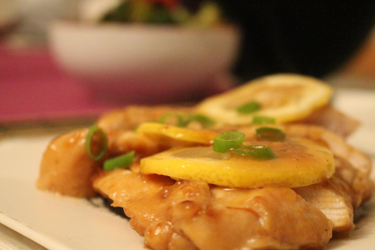 Honey Lemon Chicken |