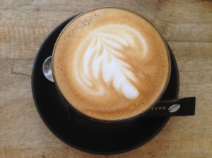 Toby's Estate beans used to craft my delicious Latte