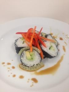 vegetarian sushi 2