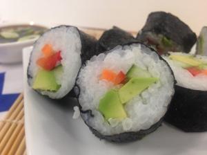 vegetarian sushi 3